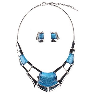Girl-Era-Sexy-Luxury-Egyptian-Style-Chunk-Collar-Necklace-Earring-Setblue-0