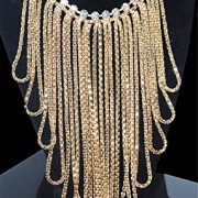 Girl-Era-Womens-Mutil-Bling-Long-Tassels-Crystal-Chain-Necklace-Weeding-Partyg-0