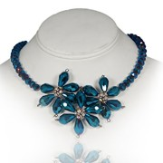 Prussian-Blue-Vintage-Style-Crystal-Statement-Choker-0