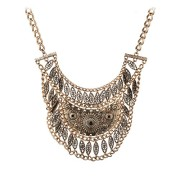 Romantic-Time-Deluxe-Antique-Style-Vintage-Filigree-Hollowed-Out-Fashion-Statement-Choker-Necklace-Grey-0
