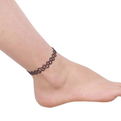 for barefoot boho ankle itm crystal womens sandal bracelet pearl tassel foot chain anklet women